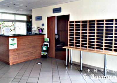 L'accueil de l'ehpad - La Brunetterie
