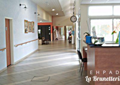 Accueil de l'ehpad - La Brunetterie