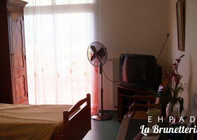 Chambre de l'ehpad - La Brunetterie