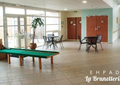 Le hall de l'ehpad - La Brunetterie