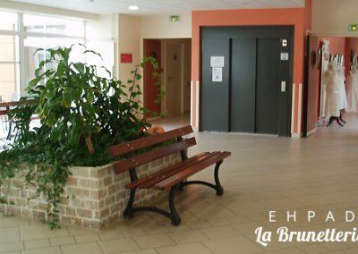 Le hall d'entrée - La Brunetterie