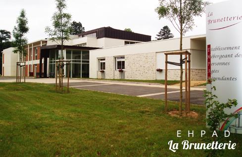 Entrée de l'ehpad - La Brunetterie