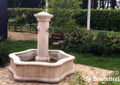 Fontaine de l'ehpad - La Brunetterie