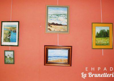 Galerie d'exposition - La Brunetterie