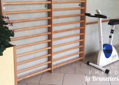 Salle de gym - La Brunetterie