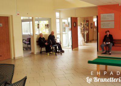 Hall de l'ehpad - La Brunetterie