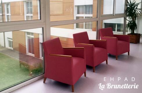 Les fauteuils de l'ehpad - La Brunetterie