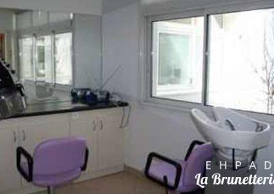 Salon de coiffure - La Brunetterie