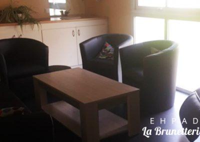 Salon de l'ehpad - La Brunetterie