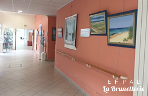 Lieu d'exposition de peintures et photos - La Brunetterie