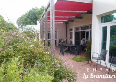 L'extérieur de l'ehpad - La Brunetterie