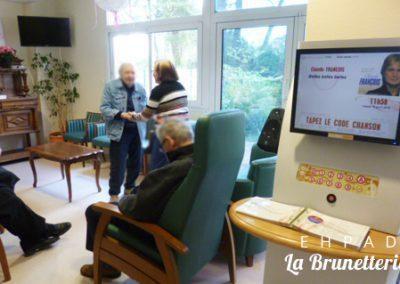 Salle de télévision - La Brunetterie