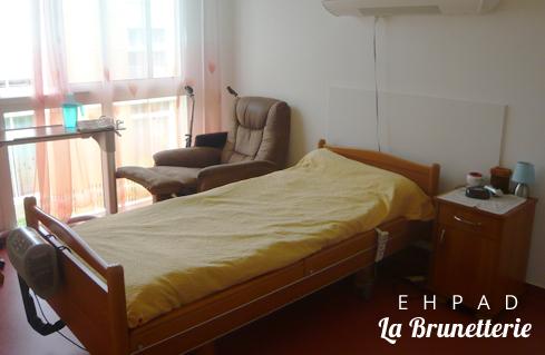 Chambre individuelle - La Brunetterie