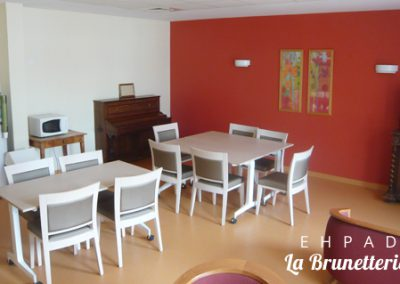Salle à manger pour les proches - La Brunetterie