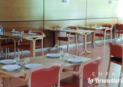 Salle de restauration - La Brunetterie
