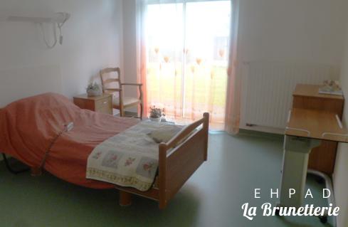 Une chambre de l'ehpad - La Brunetterie