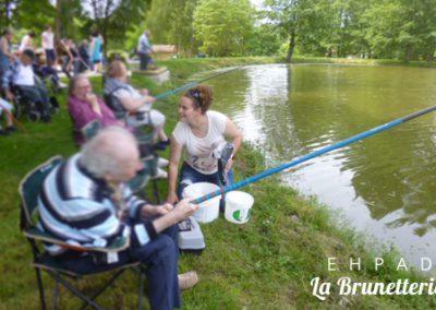 Journée pêche - La Brunetterie