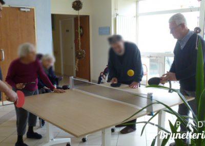 Animation ping-pong - La Brunetterie