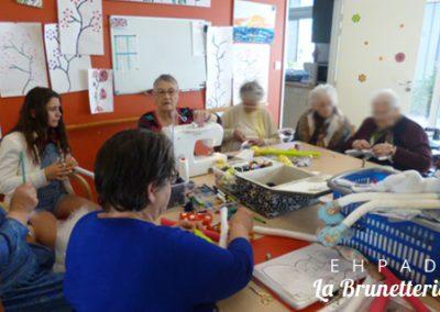 Atelier couture - La Brunetterie