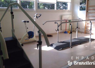 Salle de kinésithérapie - Ehpad de la Brunetterie
